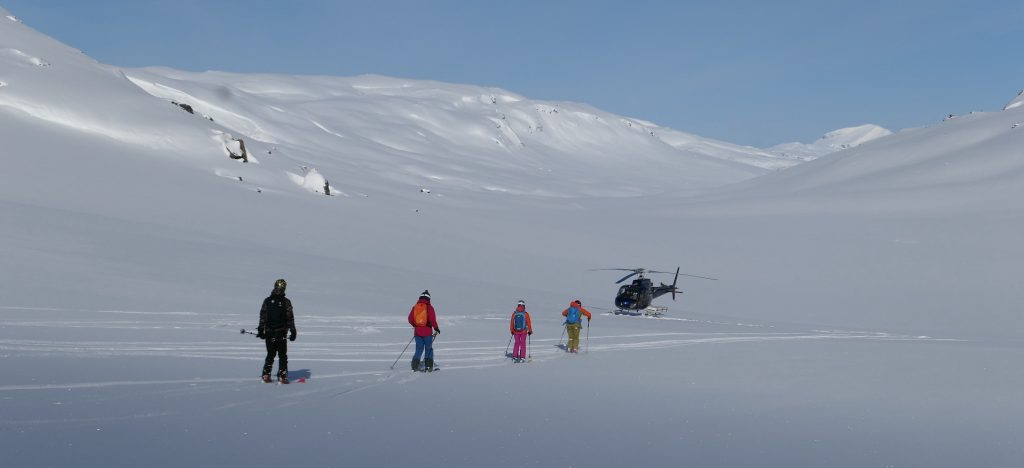 Heli-skiing Josef Pepino Šimúnek