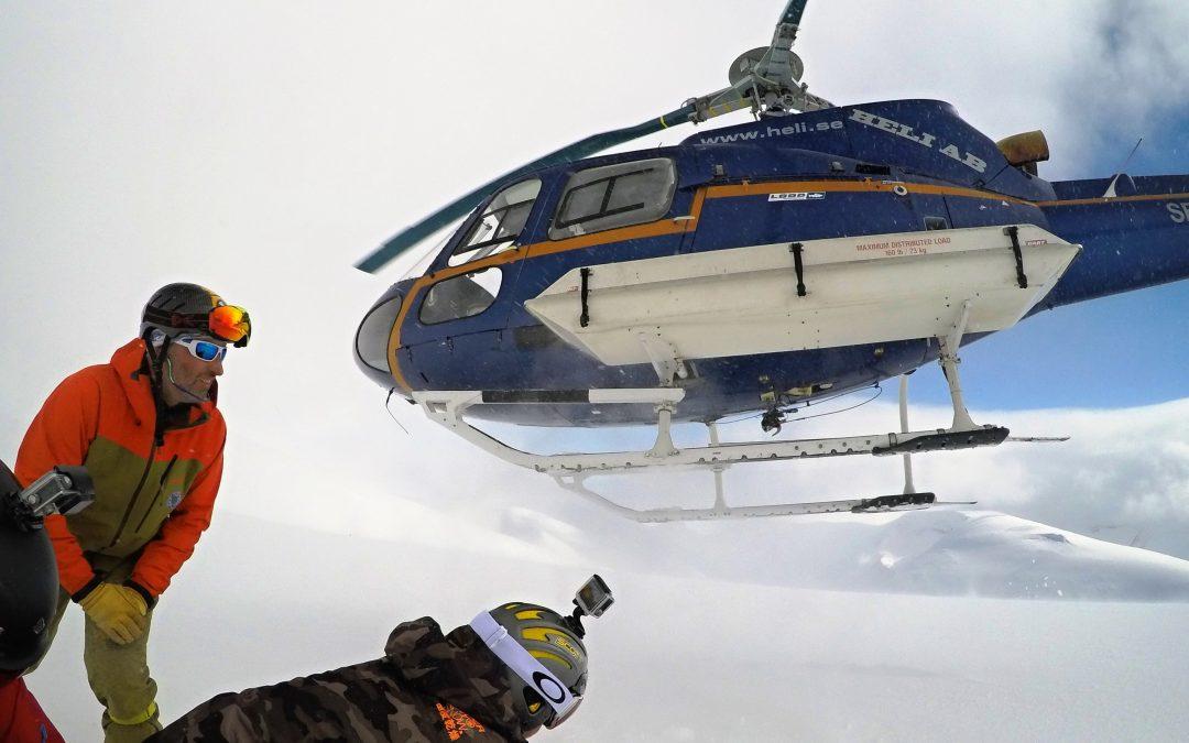 Aké je to robiť horského vodcu na vrtuľníku?