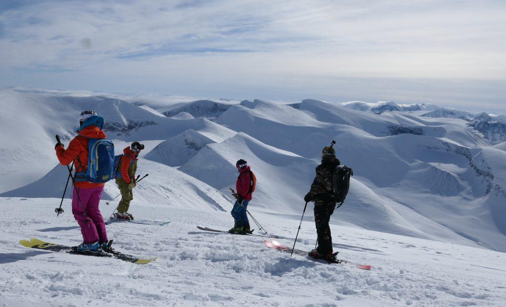 Heli-skiing Björkliden Riksgränsen
