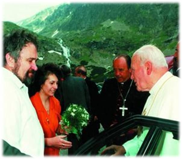 Ján Pavol II v Tatrách