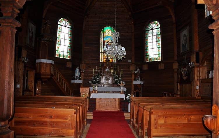 Kostol Tatranská Javorina