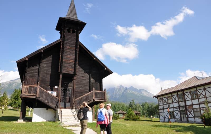 Kostoly vysoké tatry