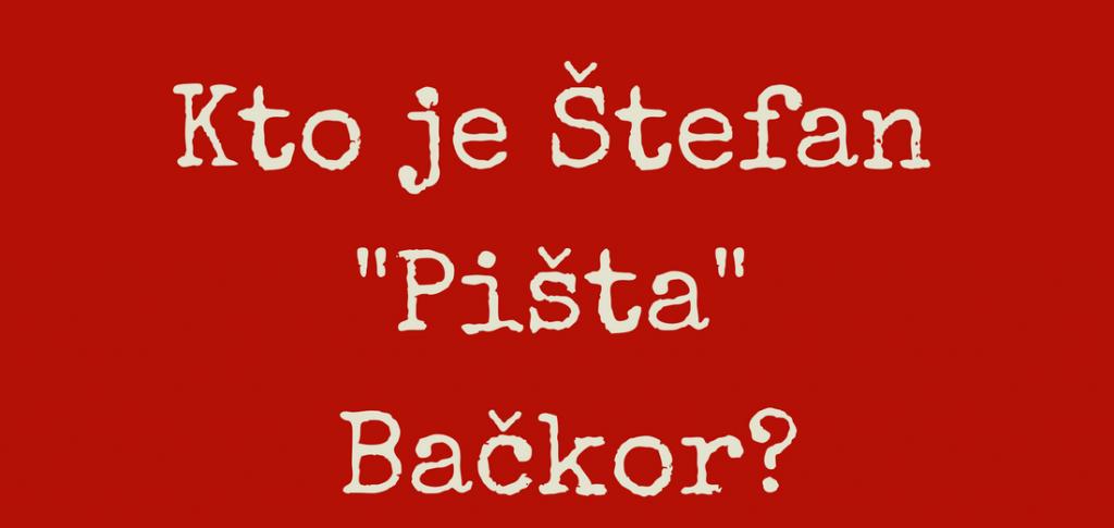 Vizitka Bačkor
