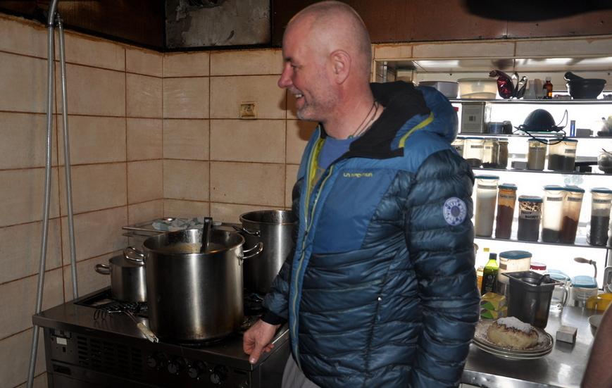 Petrík v kuchyni