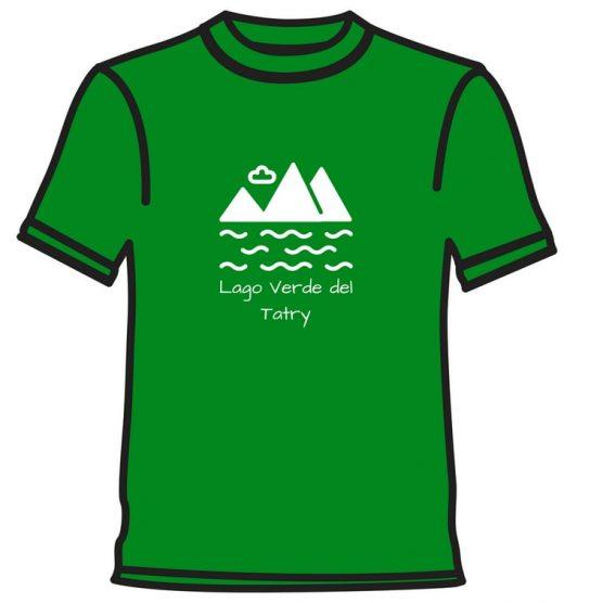 Zelené pleso tričko