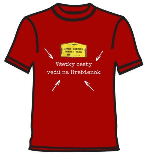 Hrebienok tričko