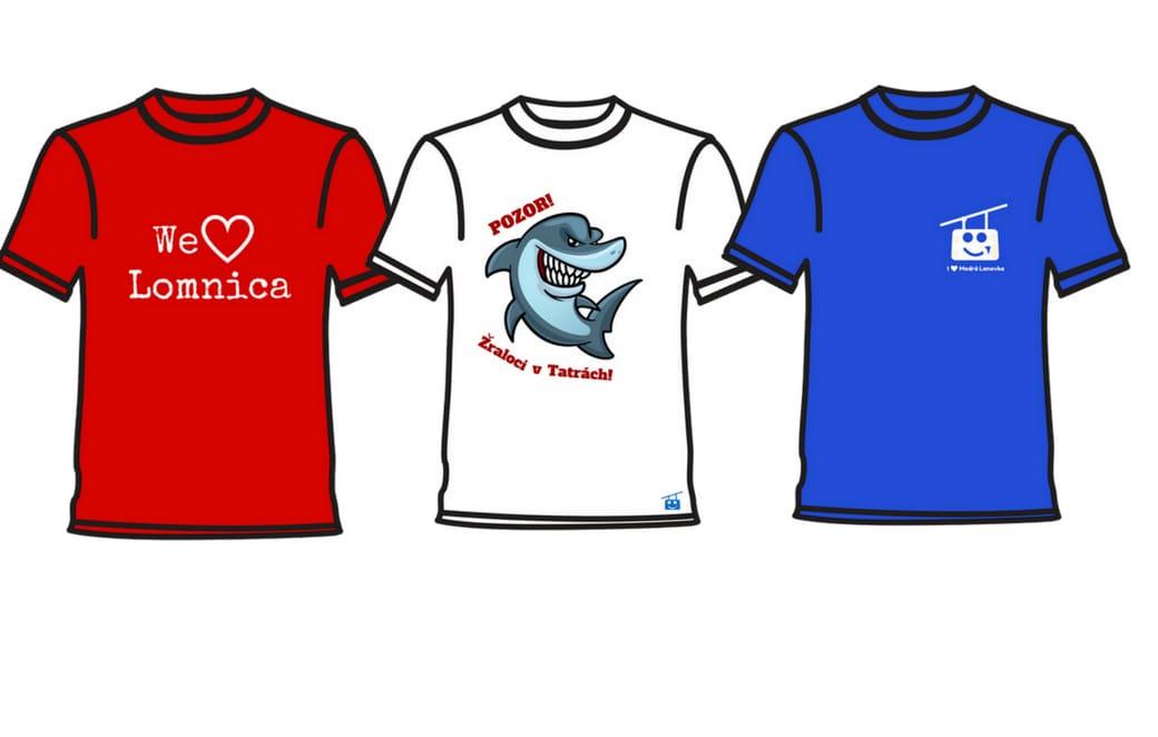Pomôžete nám vybrať pekné tatranské tričká?